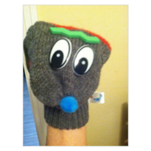 Brainy the Hand Puppet